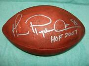 Michael Irvin Signed Football