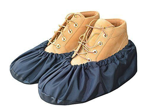 Reusable Shoe & Boot Covers - Slip Resistant Soles With A Grip You Can Count On