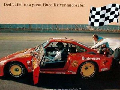 Newman//Porsche 935// USA-Daytona Beach 1981Car Poster:/>