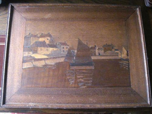 Marquetry Picture Antiques Ebay