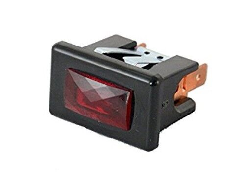 Bunn 04226.0002 Black Lamp with Red Lens 125 V