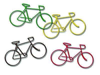 Büroklammern Fahrräder