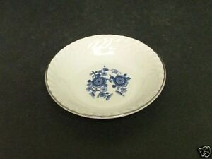 Enoch Wedgwood Royal Blue Ironstone Fruit Nappy