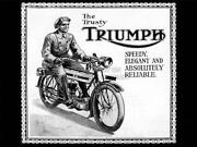 Triumph Motorcycle Poster