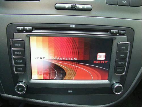 Car stereo dvd sat nav built in harddrive ono