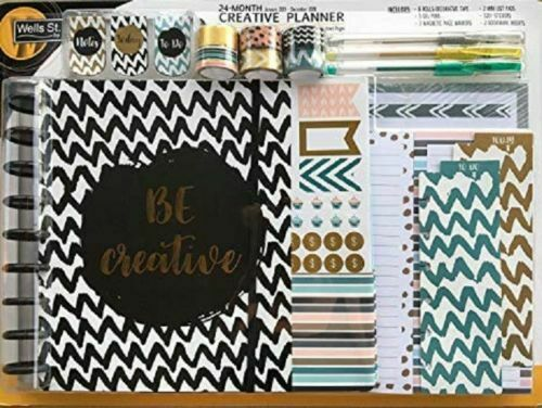 NEW Wells St. by LANG 24 Month Creative Planner Jan 2019-Dec