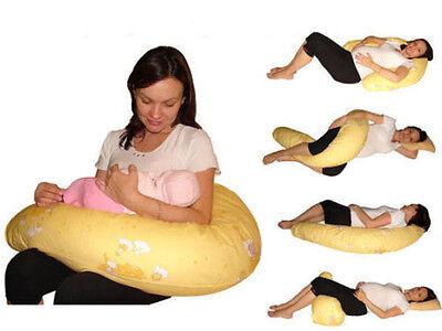 XXL Baby Stillkissen Lagerungskissen lang 4 Designs inkl. Bezug 170 CM
