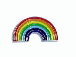 GAY PRIDE RAINBOWS PIN BADGE NEW