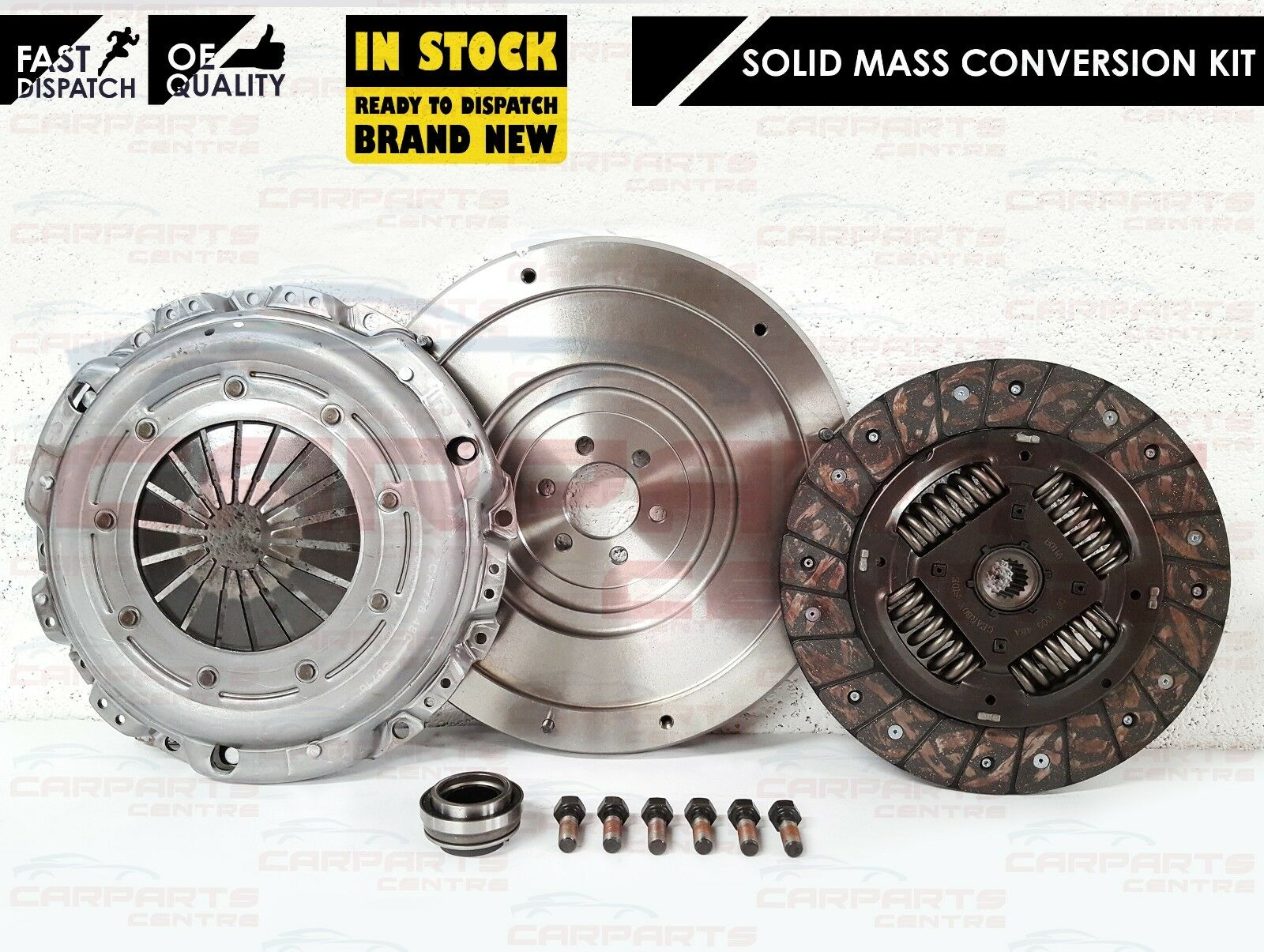 Peugeot 407 1.6 HDi Dual Mass Replacement Clutch Kit Solid Flywheel