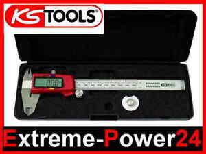 KS Tools Digitaler Messschieber 0 - 150 mm Digital LCD Schieblehre Meßschieber