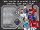 Topps Museum Topps Box Soccer Trading Cards