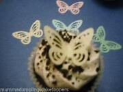Wedding Cake Decorations Edible Butterflies