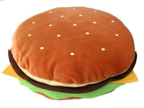 Hamburger Pillow Ebay