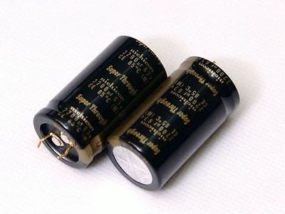 2pcs Nichicon Super Through Kg 2200uf 63v For Audio Capacitor 25x45 85 E200 Yx