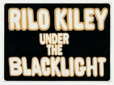 Rilo Kiley Under the Blacklight RARE promo sticker '07