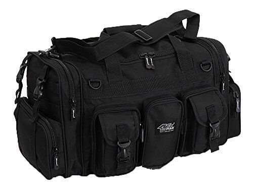 "Mens Large 22"" Duffel Duffle Military Molle Tactical Gear Travel Bag"