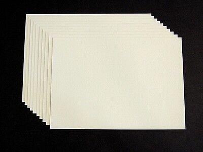 10 x Kartenkarton Kartenpapier Tonkarton A5 creme 220g