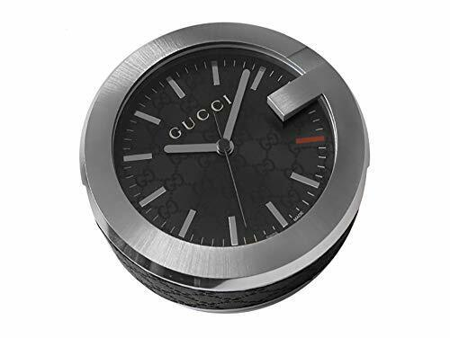 Gucci table clock black YC210008 [parallel import goods]