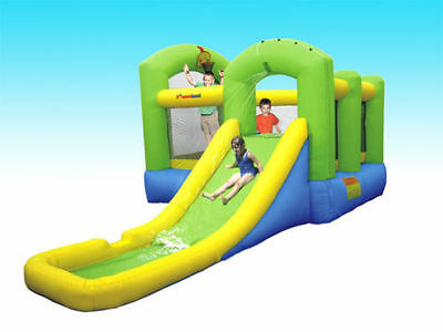 Inflatable Bounce House Outdoor Birthday Party Explore Fun Jump Kids Child Play