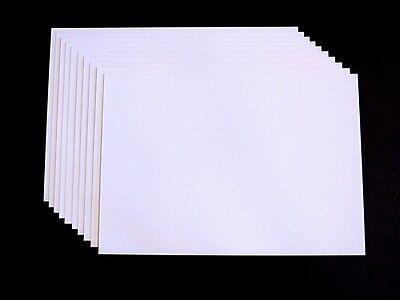 10 x Kartenkarton Kartenpapier Tonkarton A5 weiss 220g