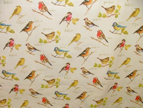 Bird Design Fabric Ebay