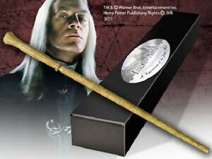 Harry Potter baguette magic LUCIUS MALFOY edition character + clip metal