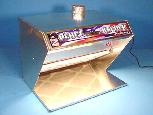 """Home Hobby Spray Paint Booth - Model: 24"""" SUPER - Mini ~ Brand: Pace PeaceKeeper"""
