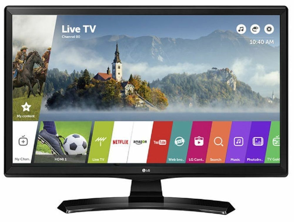 "Image of Lg 24mt48s 24"" Led Tv Hd Ready 720p Freeview-black #8"