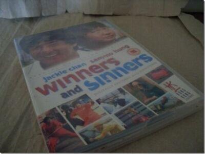 WINNERS AND SINNERS JACKIE CHAN HKL SAMMO HUNG HONG KONG LEGEND DELETED HK OOP