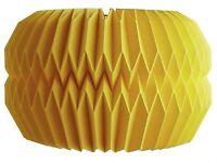 Habitat Kura paper lampshade in yellow - brand new in box