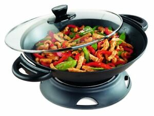 6L RIVAL ELECTRIC WOK!! --- UNUSED, NEW IN BOX --- ONLY $30!!