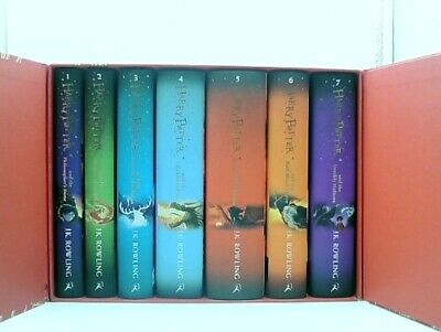 Harry Potter Box Set (Hardcover): The Complete (Books 1-7) Collection READ