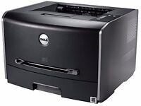 New Dell Laser Printer 1720DN + Brand New Power Lead & Brand New Printer Cable