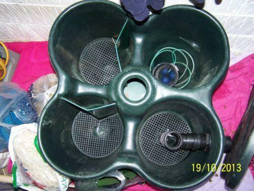 Cloverleaf Pond Filter Ebay