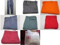 JOB LOT WORK TROUSERS x50 pair