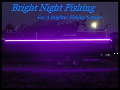 Black Light Night (UV Black LED Strip Light Night Fishing UV Ultraviolet boat 12v fluorescent)