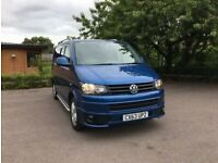 VW T5 HIGHLINE CAMPERVAN, LOW MILEAGE 53K, BRAND NEW CONVERSION