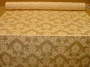 Gold Damask Fabric
