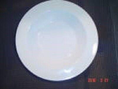 Centura Wide Rim White Salad Plate(s)  Plate Wide Rim