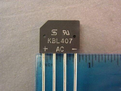 10 TSC KBL407 700V RMS 4.0 AMP Silicon Bridge Rectifiers