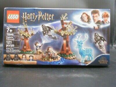 LEGO Harry Potter Expecto Patronum Set (75945) - Worn Box