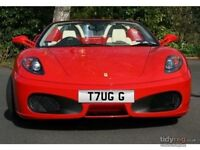 PRIVATE CAR PLATES - T7UG G - M444 DOM - W11 CLB