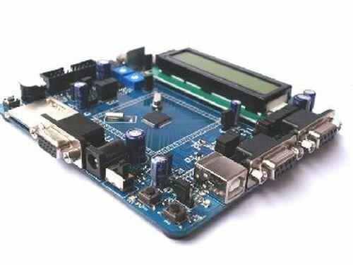 LPC2148 (ARM7) Dev. Board: 2xRS232, USB, VGA, PS/2, SD Card