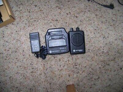 Motorola Minitor 5 V Vhf Pager 151159 2 Channel Sv