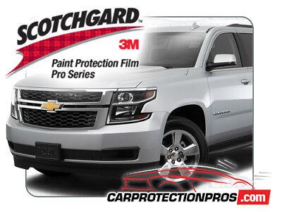 2018 Chevrolet Suburban 3M Scotchgard PRO Clear Bra Bumper Paint Protection Kit