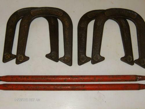 Used pitching horseshoes ebay for Where to buy used horseshoes