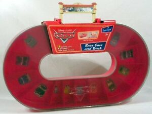 Disney Pixar CARS Race Case and Track