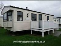 Rockley Park Haven Private Static Caravan Hire 2 Bed 4berth dorsetcaravans4hire