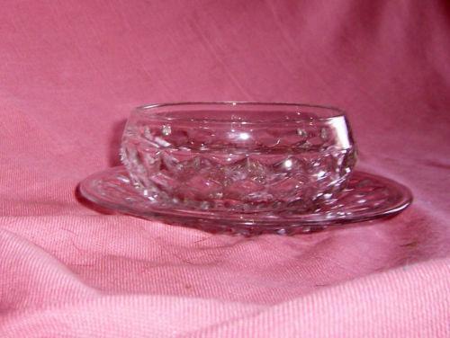 Fostoria American Glass Bowl Ebay