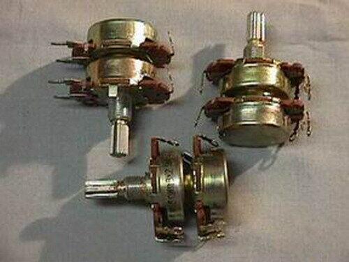 10 Alps 50K BX2 Dual 50K Ohm Pots w/10K Fixed Taps Linear